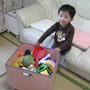 おもちゃ収納箱パスコ