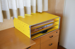 3段書類棚用イエローパスコ