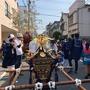 住吉・猿江神社大祭の初日はこども御輿で元気一杯